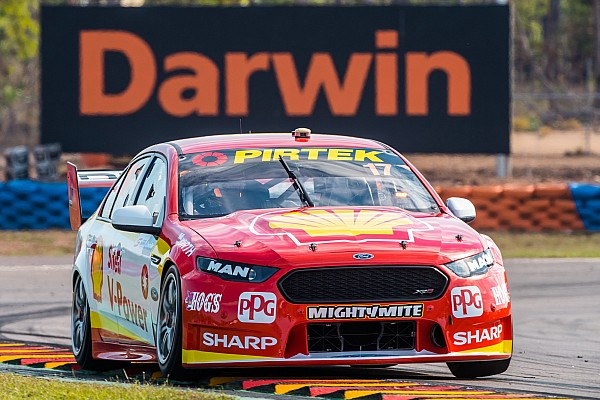 Darwin Supercars: McLaughlin holds on to win tight opener