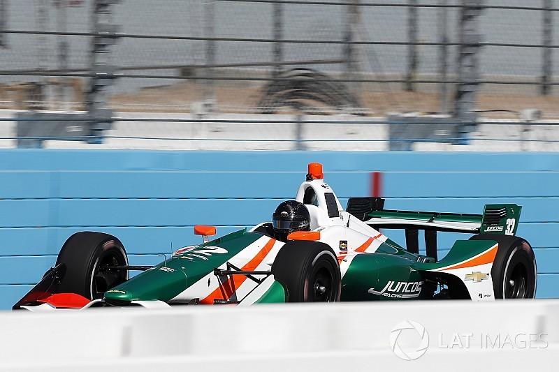 """Kyle Kaiser """"excedió las expectativas"""" durante pruebas de IndyCar"""