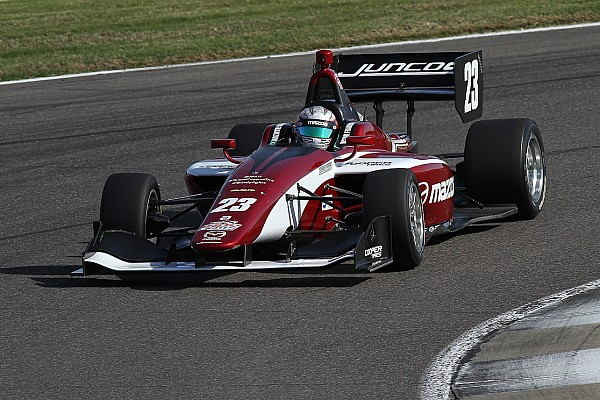 Indy Lights Race report Road America Indy Lights: Franzoni scores emotional first win