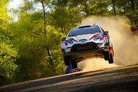 WRC Türkiye Rallisi: İlk 3 lastik patlattı, Evans lider!