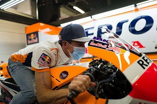 La visita sorpresa de Marc Márquez al Circuit, en imágenes