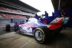 F1バルセロナ公式テスト:2日目午前タイム結果