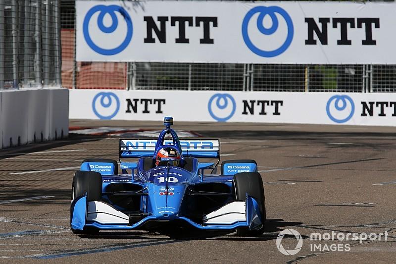 Rosenqvist completes sensational IndyCar debut with
