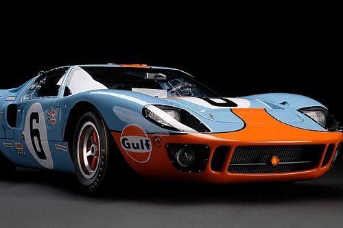 Amalgam nos sorprende con una maqueta del Ford GT40 a escala 1:8