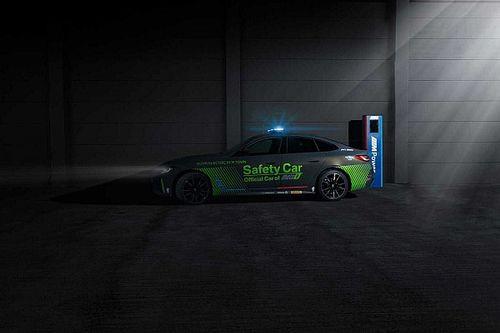 El BMW i4 M50 debuta como el primer safety car eléctrico bávaro