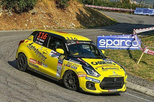 CIR: Goldoni è Campione R1 con la Suzuki Swift Sport Hybrid