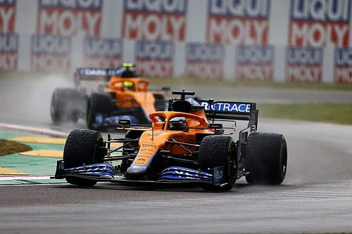 "Ricciardo had to ""swallow pride"" in Imola swap with Norris"