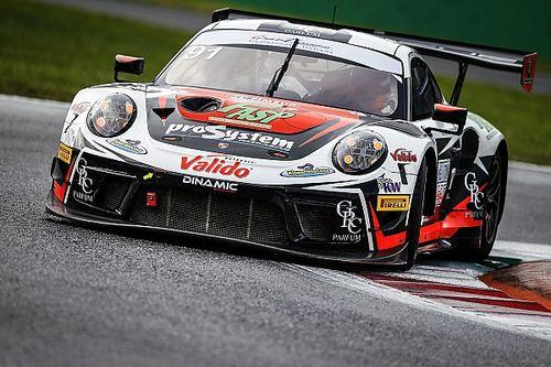 Cairoli nel GT Sprint a Vallelunga con Cassarà sulla Porsche