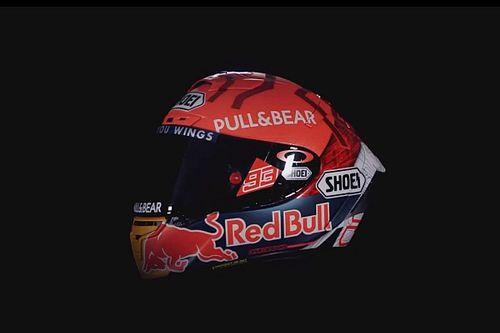 Liveblog: Marc Maquez toont nieuwe (oude) helm voor 2021