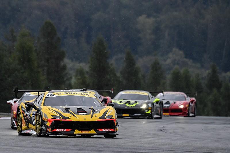 Ferrari Challenge Europe: a Brno vincono Nielsen, Froggatt, Kirchmayr e Nussbaumer
