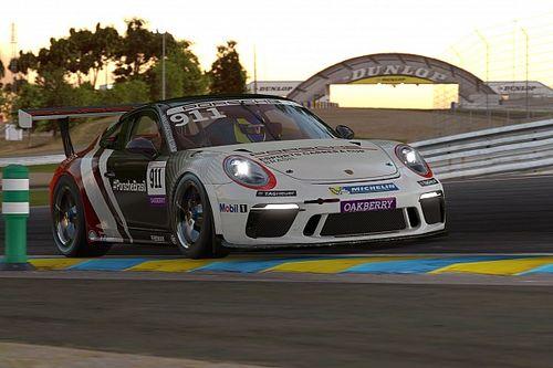 Traçado virtual das 24h de Le Mans recebe segunda etapa do Porsche Esports Carrera Cup