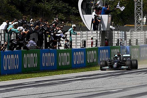 Hamilton consigue su victoria 98 en España y Pérez en top cinco