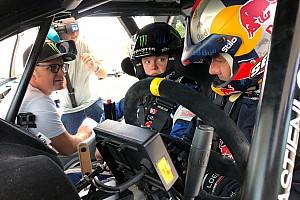 Loeb tutors Solberg's son in two-day test