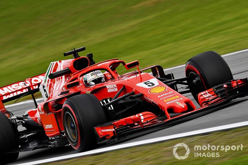 Vettel presenta su candidatura a la pole en los libres 3 de Brasil