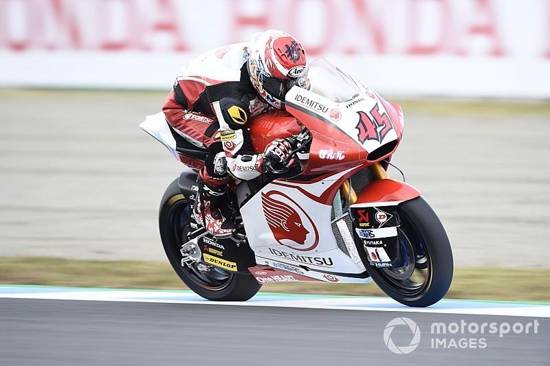 Moto2日本予選:バニャイヤPP。長島ベストグリッドの8位
