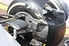 技术短文:梅赛德斯W07前轮刹车通风道