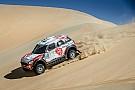 مشكلة في علبة التروس تُجبر القاسمي على إنهاء رالي أبوظبي الصحراوي في المركز السابع