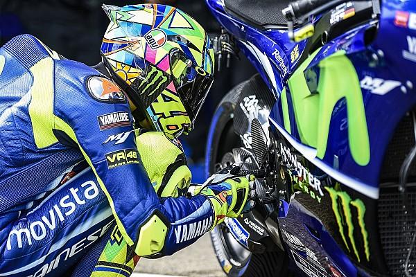 Rossi in 2018 met nieuw helmontwerp