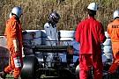 Formel-1-Neuling Lance Stroll nach Crash: