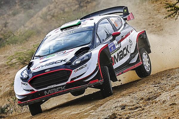 WRC Ultime notizie Le nuove gomme da sterrato della DMACK convincono subito Evans
