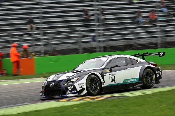 Blancpain Endurance Breaking news Lexus to join Blancpain GT full time in 2018