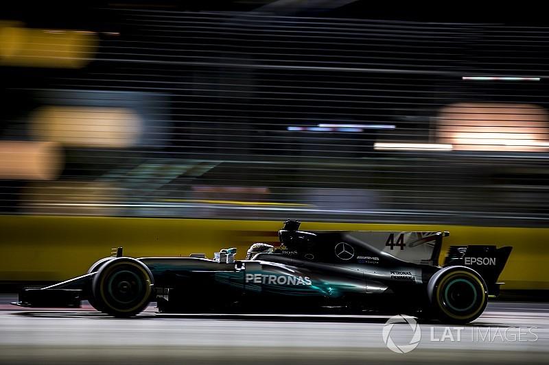 Mercedes erstaunt: Nur Red Bull bei F1 in Singapur stärker