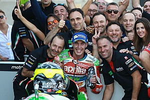 MotoGP Ultime notizie Grande Aprilia ad Aragon: Espargaro sesto a meno di 7