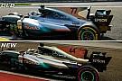 Análisis técnico: los cambios que impulsaron a Mercedes en Singapur