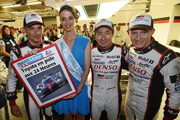 24h Le Mans 2017: Pole-Position für Toyota mit Streckenrekord