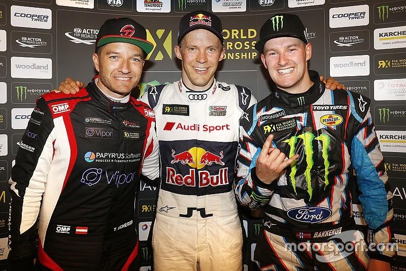 WRX Barcelona: Kalahkan Scheider, Ekstrom juarai seri pembuka