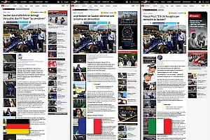 General Прес-реліз Motorsport.com відкрив нове тримовне швейцарське видання