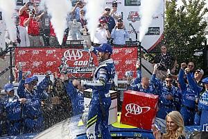 NASCAR Cup Relato da corrida Na prorrogação, Johnson supera Larson e faz história