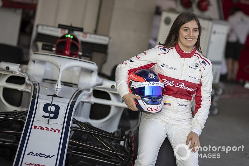 Calderon, F1 sürücülerine karşı şans bulmak için ''dua ediyor''
