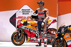Honda unveils 2019 liveries for Marquez and Lorenzo