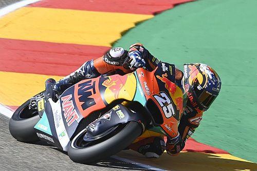 Fernandez ondanks blessure naar dominante Moto2-zege in Aragon