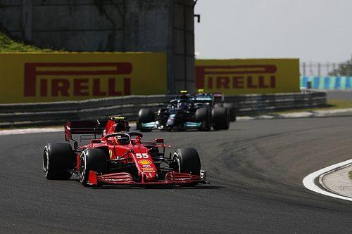 Sainz forced to take third Ferrari power unit for Hungarian GP