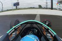 Alonso megtörte az autóját az Indy edzésén (videó)