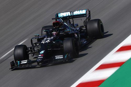 Mercedes dice estar mejor en la gestión de los neumáticos