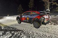 WRC, Rally Arctic, PS8: Neuville vede il 2° posto. Ogier esce!