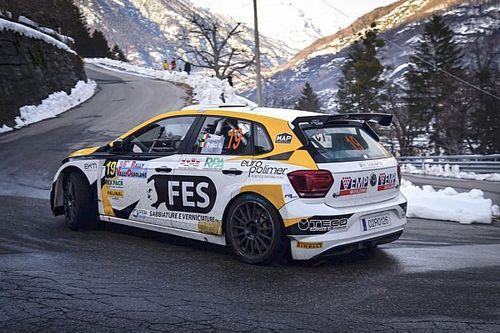 Luciano Linossi al Rally di Adria con una Polo R5