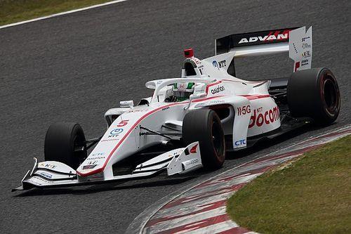 Suzuka Super Formula: Fukuzumi scores maiden pole