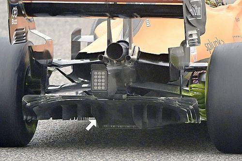 El inteligente truco de McLaren con las reglas del difusor