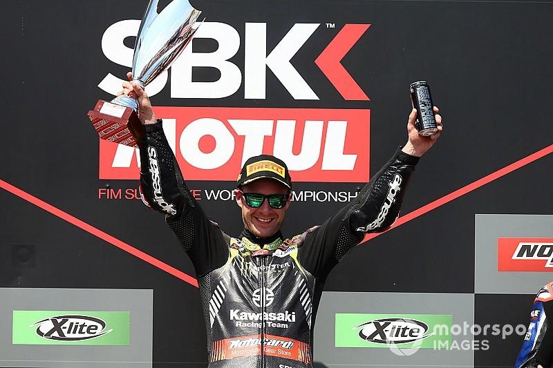 WSBK, Алгарві: Рей виграв другу гонку вікенду, ван ден Марк другий