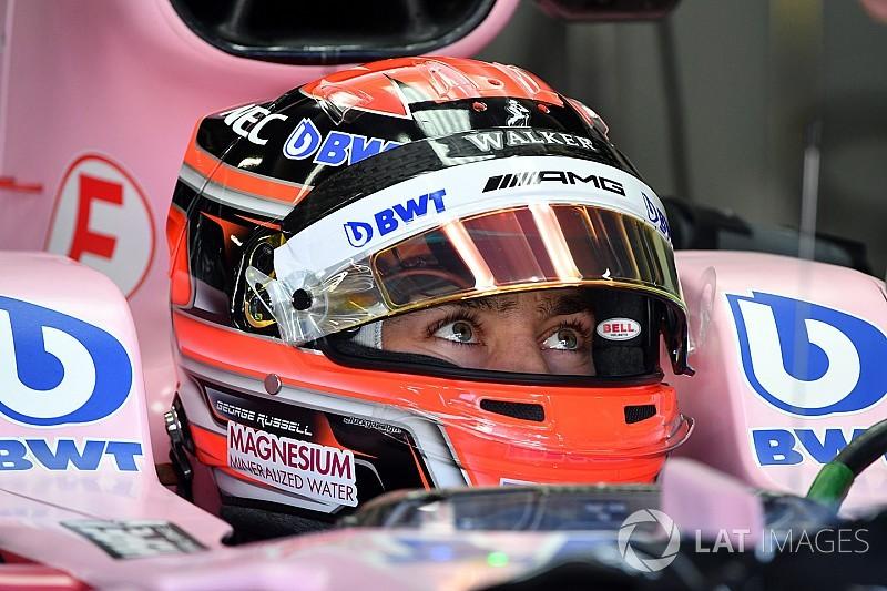 """Russell asegura estar """"listo para correr"""" en la F1 en 2018"""