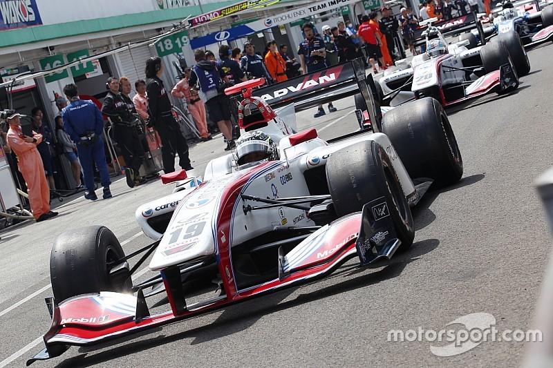Makino, Auer, Newey join Super Formula rookie test