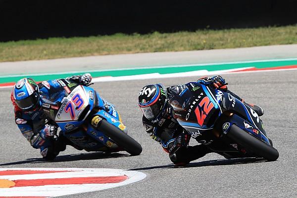 Moto2 Bagnaia vient contrecarrer les plans de Márquez au Texas