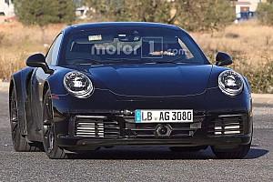 Auto Actualités Spyshots - La Porsche 911 type 992 à nouveau surprise