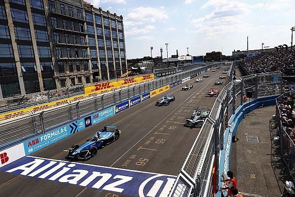 Formule E Résultats La grille de départ de l'E-Prix de New York