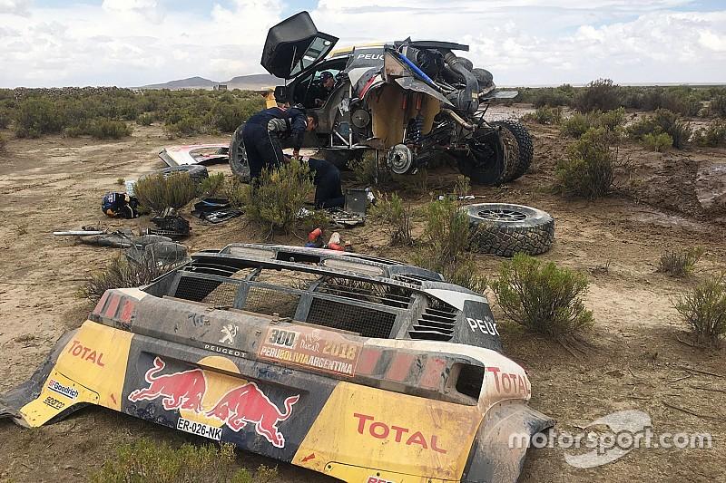Дакар-2018, етап 8: передостанній шанс Peugeot