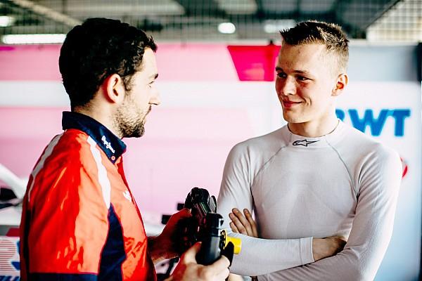 FIA F2 Reaktion Trotz Bestzeit: Maxi Günther will